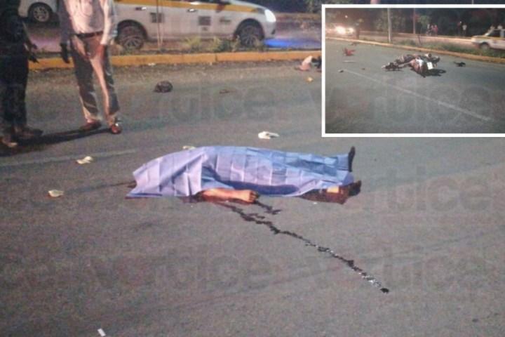 Muere motociclista al ser atropellado por un taxista en Real del Bosque