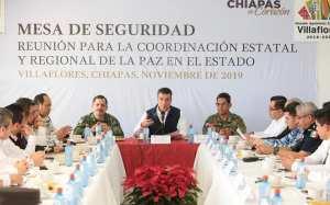 En Villaflores, encabeza Rutilio Escandón Mesa para la Coordinación Estatal y Regional de la Paz