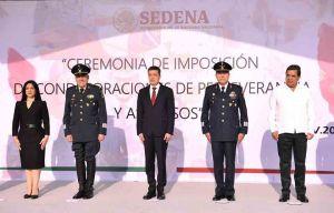 Pondera Rutilio Escandón labor del Ejército en temas de seguridad y contingencia