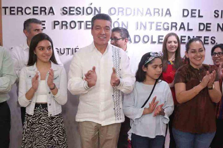 Sumamos esfuerzos para garantizar la protección integral de la niñez y adolescencia: Rutilio Escandón