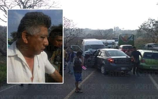 Chofer fallece tras encontronazo contra colectivo en Berriozábal