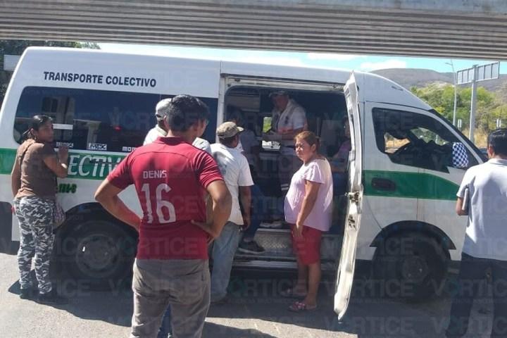 Encontronazo deja ocho heridos en Tuxtla