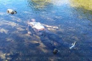 Localizan cadáver dentro del río Sesecapa en Mapastepec