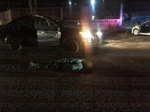 Muere peatón tras brutal embestida en Berriozábal