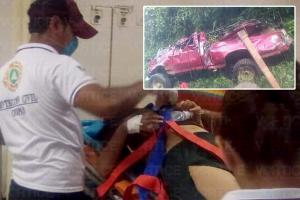 Confirman lista de muertos y heridos en accidente de Ixhuatán