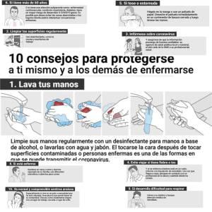 Consejos básicos para protegerse del Coronavirus
