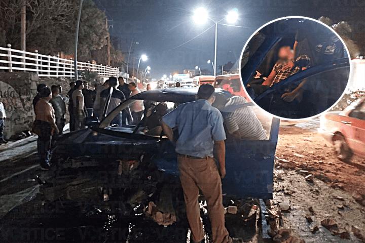 Muere joven tras accidentarse en la carretera a Chiapa de Corzo