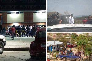 Se desata balacera tras liberación del alcalde de Bochil