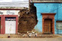 Suman cinco muertos en Oaxaca por el sismo