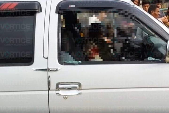 ¡A balazos! asesinan a exdirector de Protección Civil en Chamula