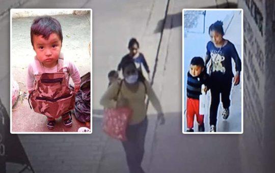 Mujer y niña roban a un menor de dos años en Merposur