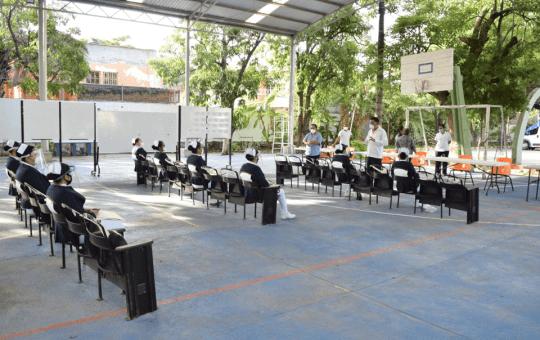 Se realiza la entrega de pasantías en el ISEEECH Chiapas