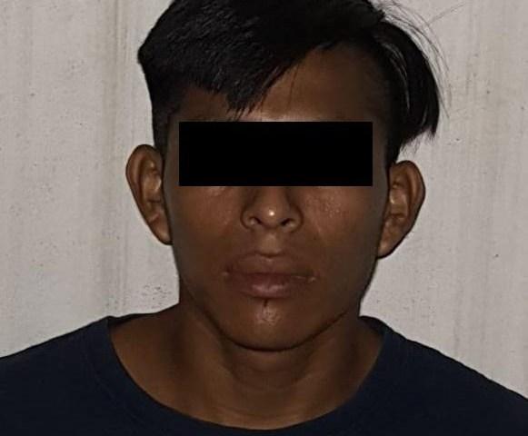 Lo detuvieron por asalto a mano armada en Palenque