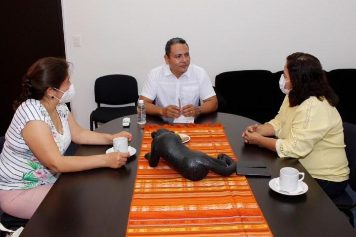 Titular del ICTI se reúne con legisladores federales