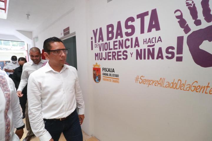 La seguridad de la región Sierra es prioridad: Llaven Abarca