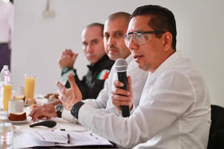 Encabeza Llaven Mesa Regional de Seguridad en Motozintla