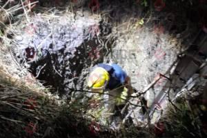 Encuentran cadáver sepultado cerca de Las Granjas