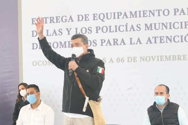 Esfuerzos a favor de la seguridad fortalecen el bienestar y la economía de Chiapas: Rutilio Escandón