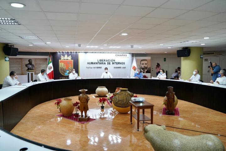 En Chiapas se promueve una nueva política penitenciaria garante de los derechos humanos: Zepeda Soto