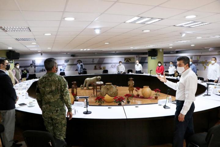 Coordinación de Mesa de Seguridad garantiza la paz en Chiapas: Zepeda Soto