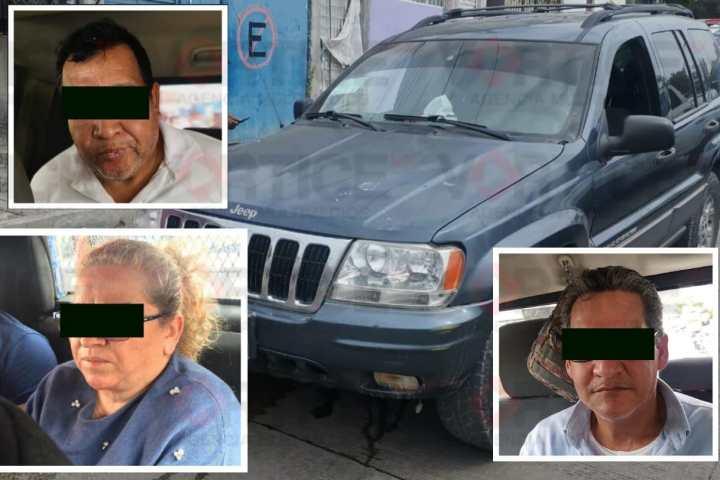 Detienen a tres por intento de robo en el auto hotel Troya