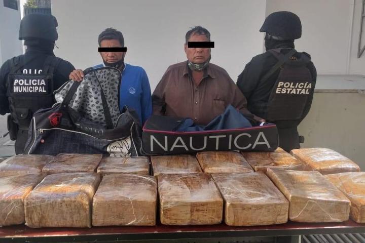 Asegura SSyPC 82 kilos de marihuana en Tuxtla Gutiérrez