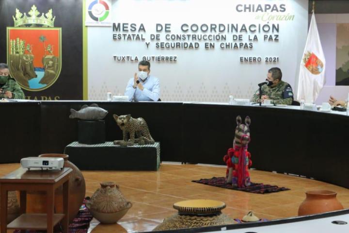Refuerza SSyPC operativos en franja fronteriza y zona limítrofe con Tabasco, Oaxaca y Veracruz