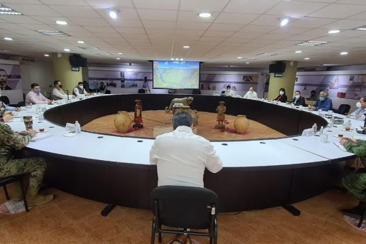Destaca Zepeda Soto ante Mesa de Seguridad resultados de operativos preventivos en Chiapas