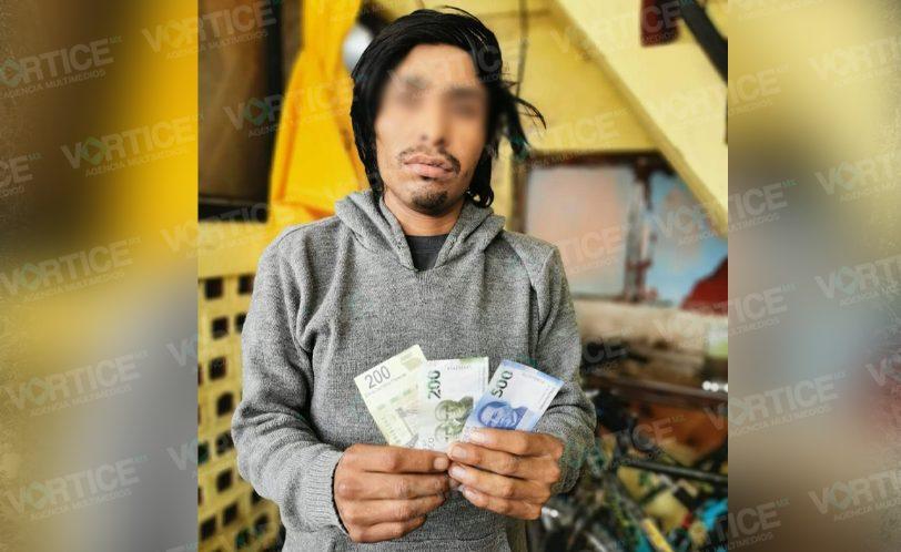 Detienen a un hombre por pagar con billetes falsos en San Cristóbal
