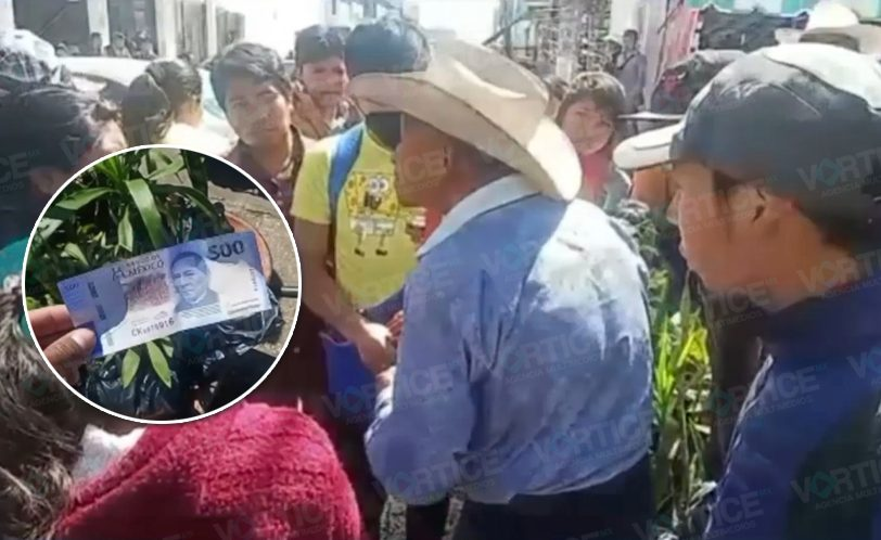 Engañan a ancianito vendedor de flores con billete falso