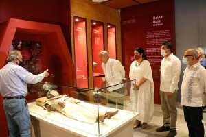 """Inauguran Pabellón """"Reina Roja"""" en el Museo de Sitio de Palenque"""