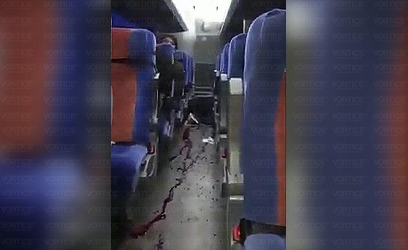 Asesinan a delincuente durante asalto frustrado a autobús de la OCC