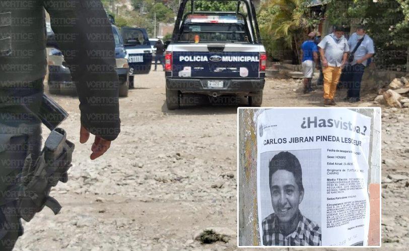 Hallan cadáver de jovencito desaparecido en Tuxtla; hay un detenido