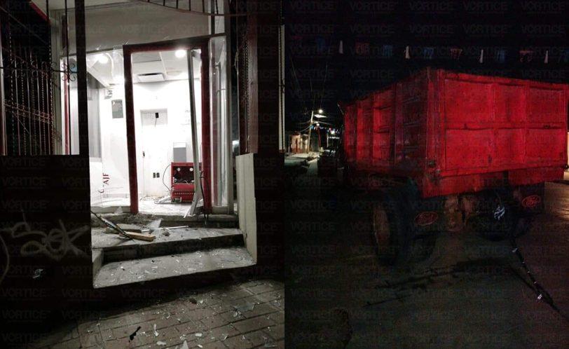 Hombres armados roban cajero automático en San Cristóbal