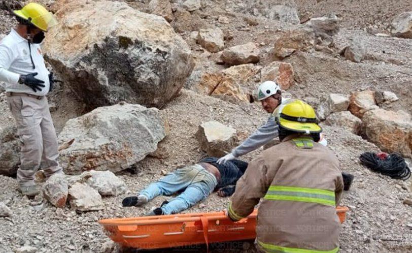 Murió al caer de 45 metros en un banco de arena en San Cristóbal