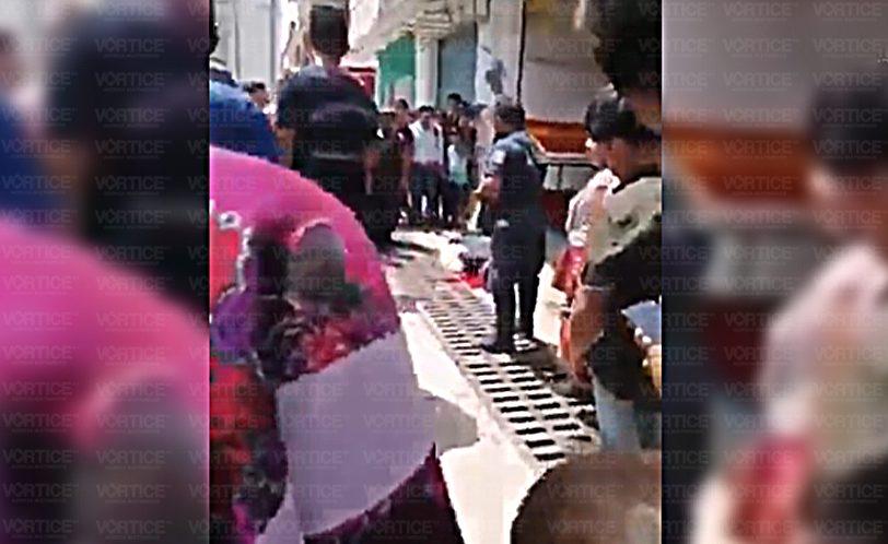 Asesinan de una balazo en la cabeza a peatón en Simojovel