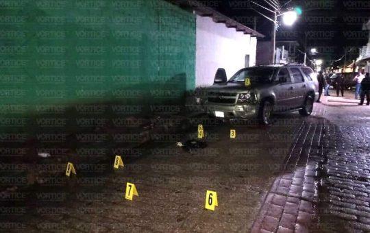 Balacera en Socoltenango deja un muerto y 4 heridos