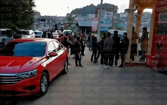 Balacera deja un muerto y ocho heridos en San Juan Chamula