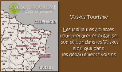 Vosges Tourisme l'annuaire des bonnes adresses vacances en Alsace Lorraine et Franche-Comté