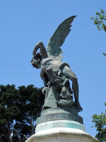 Fallen Angel, Parque de Retiro, Madrid, Spain