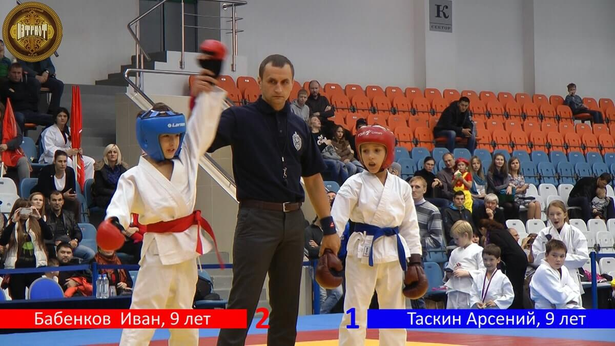 Молодые чемпионы по боевым искусствам