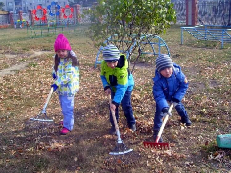 Проблемы трудового воспитания детей