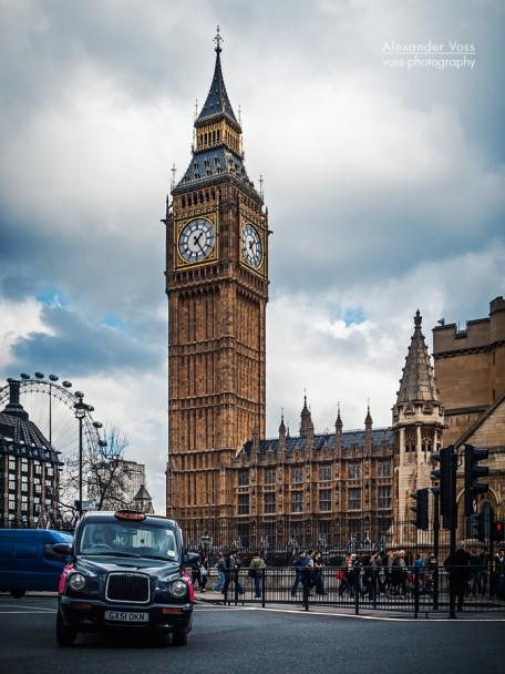London Big Ben Alexander Voss Fine Art Fotografie