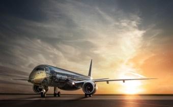 Российская премьера Embraer E195-E2