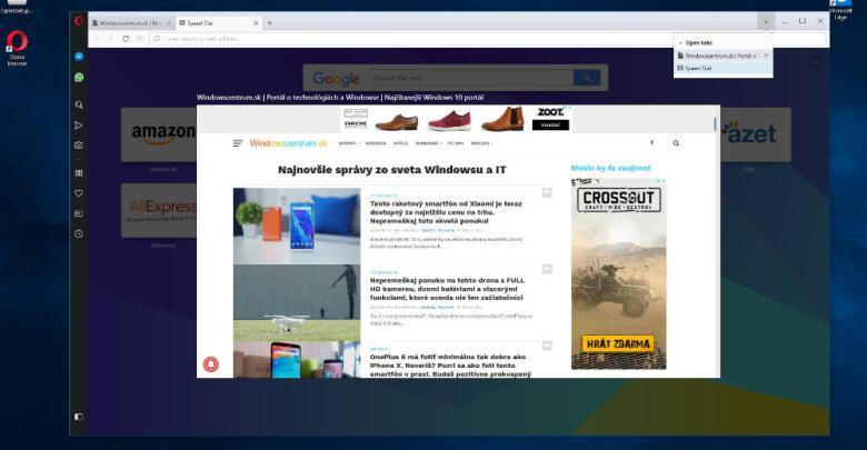 Internetovy prehliada Opera 53 stabilna verzia