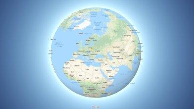Google Mapy zobrazovanie Zeme