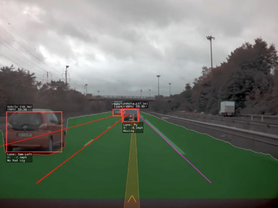 autonomny vozidlo tesla