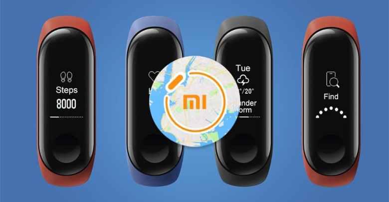 navigacia pre xiaomi mi band 3 a Xiaomi Amazfit