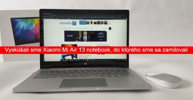 Xiaomi Mi Air recenzia
