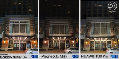 Samsung Galaxy Note 10 plus vs iPhone Xs vs Huawei P30 Pro_10_nocne svetlo